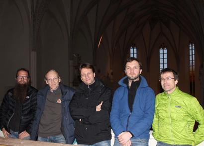The MIR Crew at Pernegg monastery church