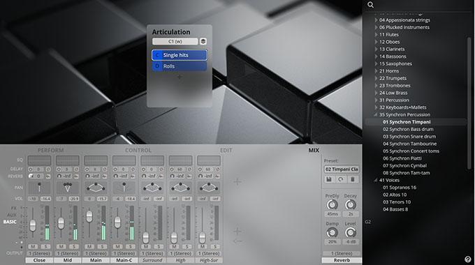 SYNCHRON-ized Timpani Single Hits - Mix
