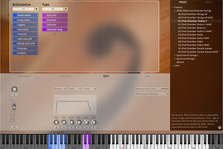 Synchron Player Edit View