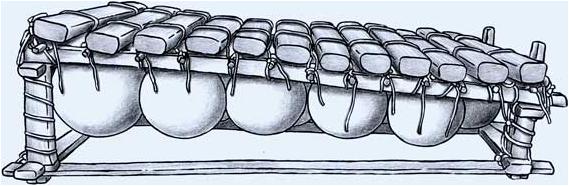 Gourd xylophone