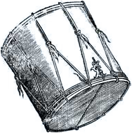 Lansquenet drum
