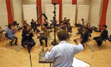 Silent Stage Violinaufnahmen