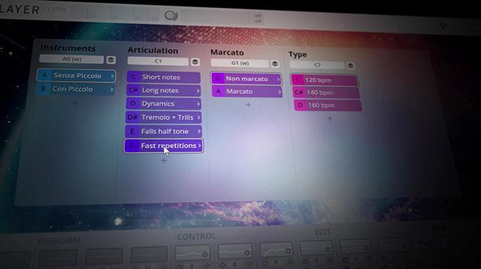 Andromeda - Dimension Tree