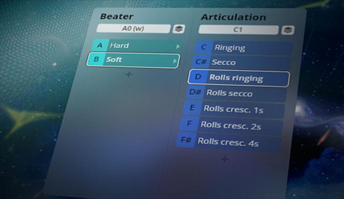 BBO: Fornax GUI - Dimension Tree