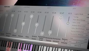 Big Bang Orchestra: Ymir - GUI Perform Page