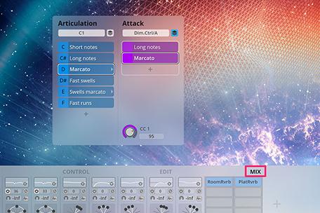 Big Bang Orchestra – Mixer Presets