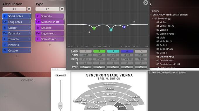 SYNCHRON-ized Solo Cello II Plus - Mixer, Placement, EQ