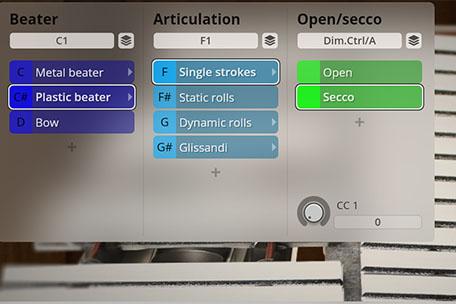 Synchron Percusion -  Glockenspiel Mixer