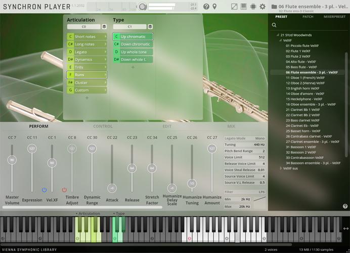 Flute Ensemble GUI