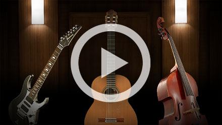 SYNCHRON-ized Plucked Instruments