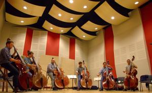 Silent Stage – Contrabass Ensemble
