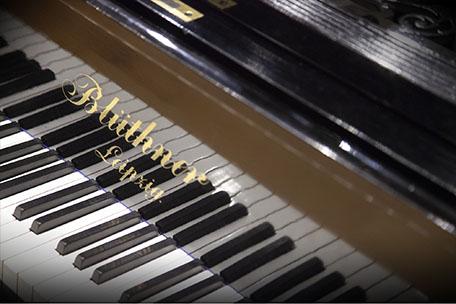 Blüthner 1895 keyboard