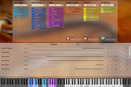 Synchron Player Control