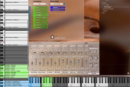 Synchron Player Mixer Key Info