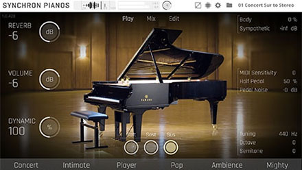 Synchron Pianos Player