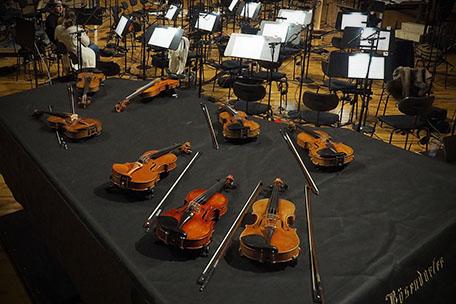 Synchron FX Strings I, Violinen