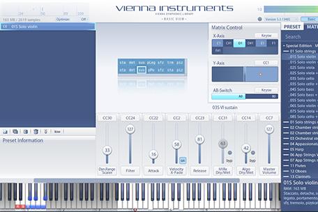 Vienna Instruments – Basic View