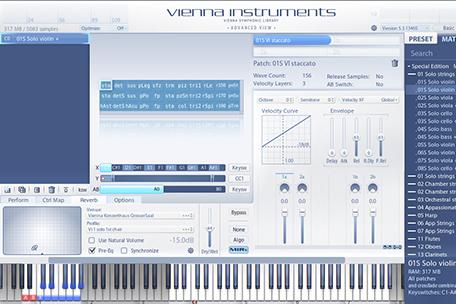 Vienna Instruments – Advanced View