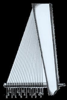 Angular harp