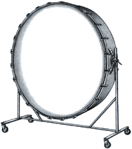 Gong drum