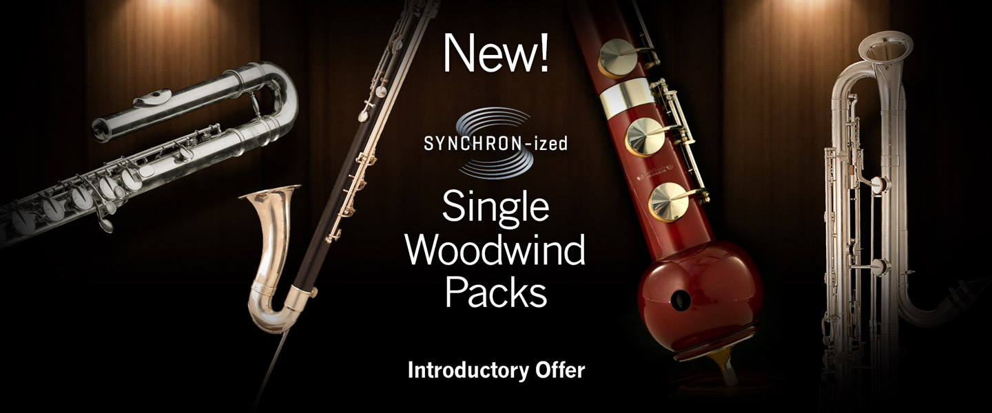 SYNCHRON-ized Single Woodwind Packs Introductory Offer